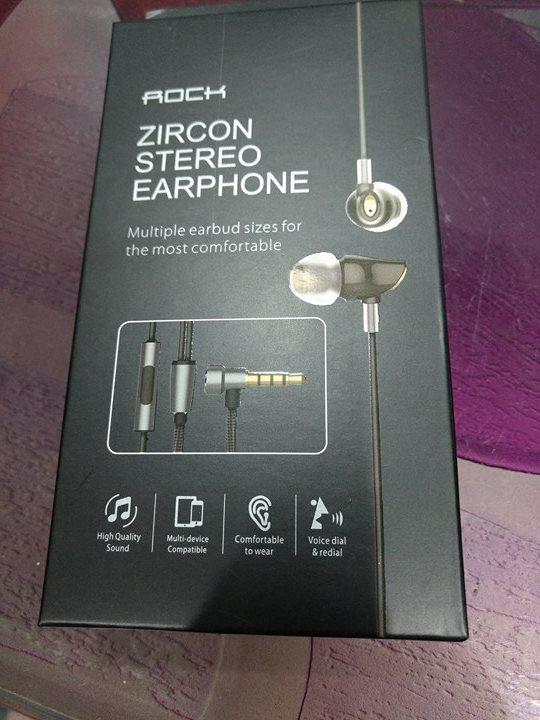 Rock Zircon Earphone Hands On Review -Best Earphone under 1500 Rs?
