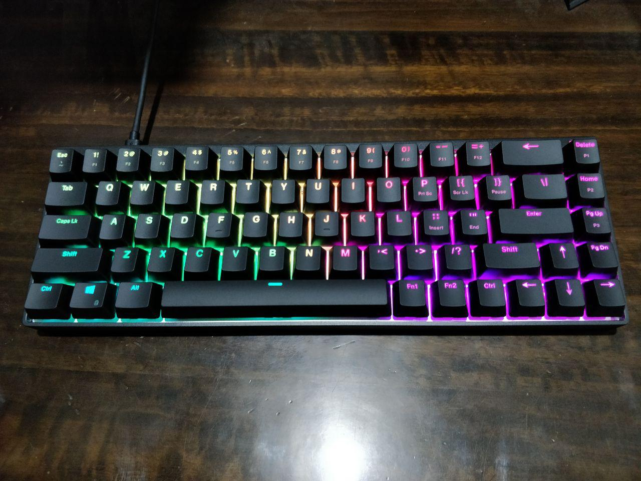 Durgod Hades 68 65% RGB mechanical Keyboard