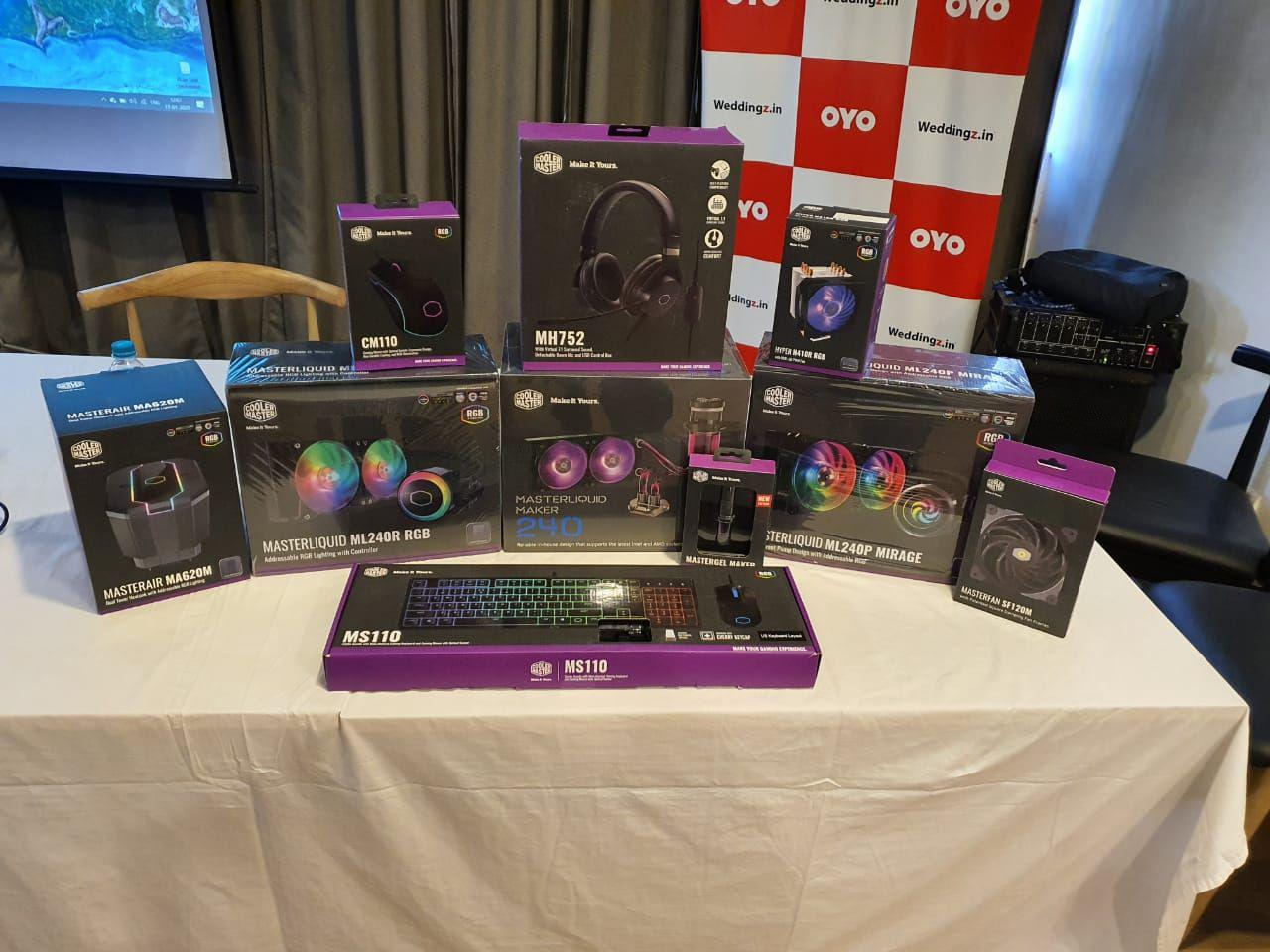 Cooler Master Launch event